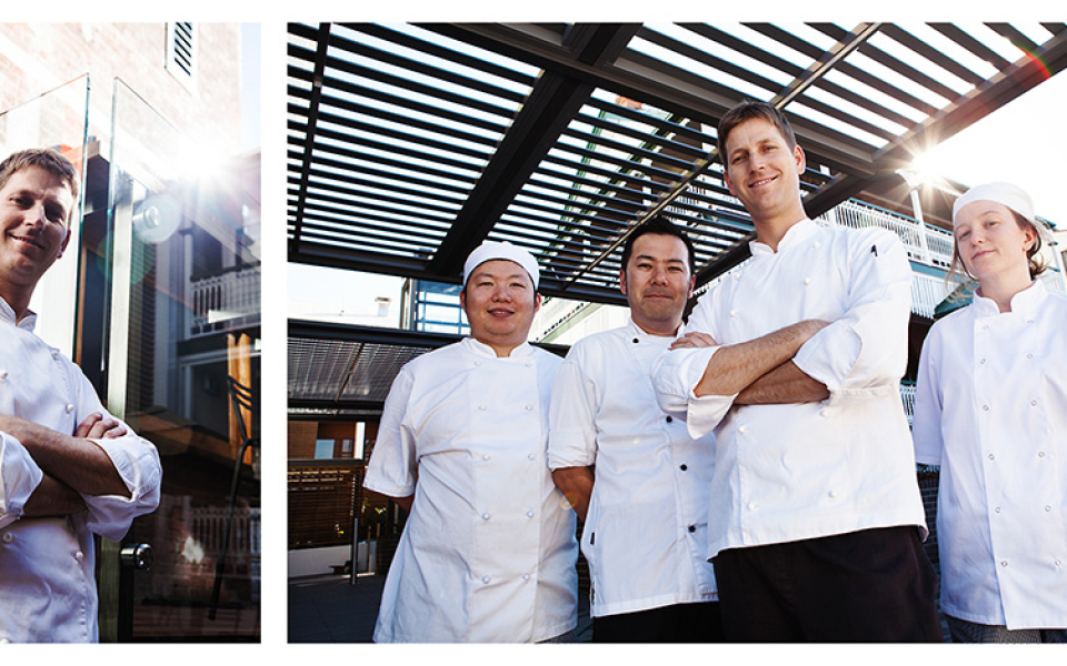 Chef Steven Herold & Team, Brisbane