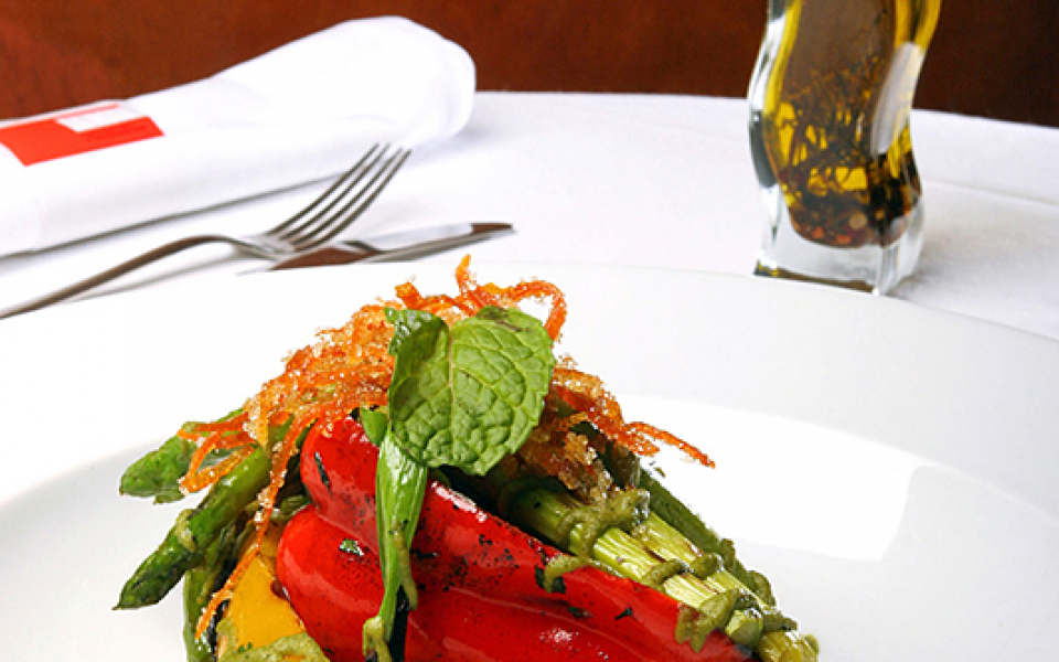 Vegetarian fine dining