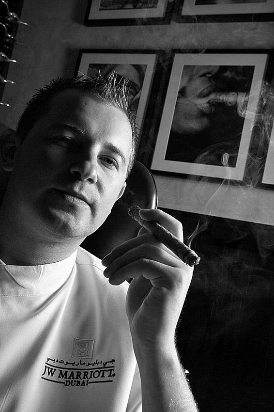 Cigar Bar Chef portrait