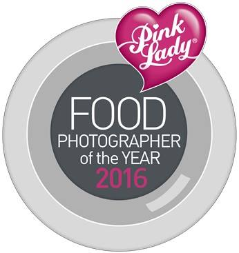 Pink Lady Food Photographer of the year award 2016 logo